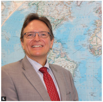 Michael Eyestone, deputy director at Global Affairs Canada, met with Estonian Ambassador Toomas Lukk (not shown) prior to Eyestone's departure to become the first Canadian diplomat residing in Tallinn, Estonia. While working at the Canadian Embassy in Tallinn, he will also serve as the senior trade commissioner, covering  Latvia, Lithuania and Estonia. (Photo: Ülle Baum)