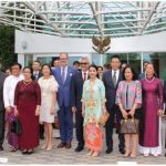 The 52nd ASEAN Day commemoration took place at the Embassy of Indonesia. Heads of mission and representatives of the ASEAN embassies in Canada are shown here. Photo: Ülle Baum)