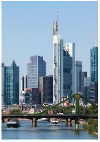 The EU, with its 28 member states (27 if Britain leaves), is the world's second-largest economy. Shown here is Frankfurt, a major hub in Europe. (Photo: Christian Wolf, www.c-w-design.de)