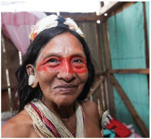 Ecuador is home to many ancient cultures such as that of this woman, from the Amazon region. (Photo: Ecuador tourism)
