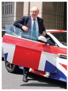 Boris Johnson was the face of Brexit in the U.K. Austrian Ambassador Stefan Pehringer calls its departure from the EU 'a sad day.' (Photo: the official website for the British Embassy in Japan)