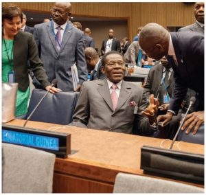 Teodoro Obiang Nguema Mbasogo is the wildly corrupt 40-year dictator of Equatorial Guinea. (Photo: UN photo)