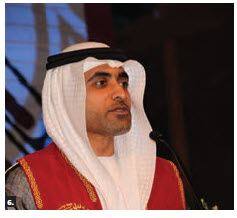 UAE Ambassador Fahad Saeed Al Raqbani, shown here, hosted a national day reception at the Canadian Museum of History. Marcy Grossman, Canadian ambassador to the UAE, attended. (Photo: Ülle Baum)
