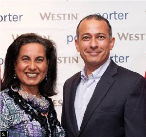 The Westin hosted an annual Canada Day party which was attended by many diplomats including Egyptian Ambassador Wael Ahmed Kamal Aboul Magd and his wife, Hanan Mohamed Abdel Kader.