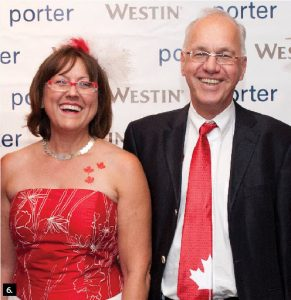 Also in attendance were German Ambassador Georg Witschel and his wife, Sabine. (Photos: Westin Ottawa)