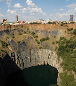 The Northern Cape is famous for the Kimberley diamond mine, where digging started in 1871 and finished in 1914. Today, it's a crater known as The Big Hole.