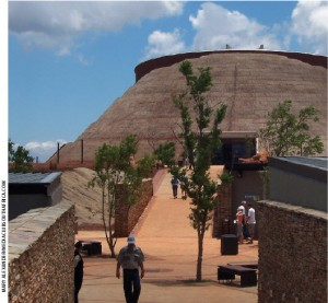 The Maropeng Cradle of Humankind is a UNESCO World Heritage Site which contains limestone caves where the 2.3-million-year-old fossil Australopithecus africanus was found in 1947.