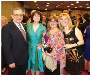 The Turkish Children's Day gala took place in April at the National Arts Centre. From left: Turkish Ambassador Rafet Akgunay, organizer Lale Eskicioglu, Ms Akgunay and guest, Nilgun Saatcioglu.