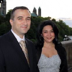 To mark the 20th anniversary of Azerbaijan's independence, Ambassador Farid Shafiyev and his wife, Ulkar, hosted a reception at the Chateau Laurier. (Photo: Ulle Baum)