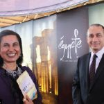 The Travel and Vacation Show took place at Lansdowne Park in April. Egyptian Ambassador Wael Aboul Magd hosted a booth with his wife, Hanan Kader. (Photo: Ulle Baum)