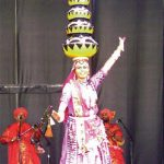 "2011 has been declared ""the Year of India in Canada."" The Indian high commission was active in this year's Tulip Festival. India's contribution featured vividly-costumed dancers, including the performer pictured here, along with cultural and cuisine displays. (Photo: Rina Gavai)"