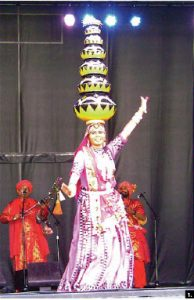 """2011 has been declared """"the Year of India in Canada."""" The Indian high commission was active in this year's Tulip Festival. India's contribution  featured vividly-costumed dancers, including the performer pictured here, along with cultural and cuisine displays. (Photo: Rina Gavai)"""