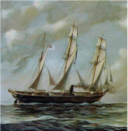 In only two years at sea, the Confederate raider Alabama, powered by both canvas and steam, sailed the Atlantic and Pacific top to bottom, while also going as far afield as South Africa and the Indian Ocean.