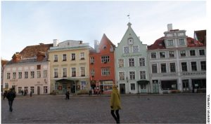 The town square in Old Tallinn has been a gathering place for centuries.