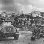 Nazi soldiers in Estonia.