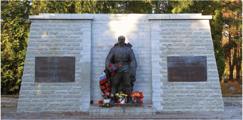 The Estonian Cyber War of 2007, which shut down websites of the Estonian parliament, banks, ministries, newspapers and broadcasters, came amid Estonia's dispute with Russia over the relocation of this monument, known as the Bronze Soldier of Tallinn, an important symbol of the Soviet era.