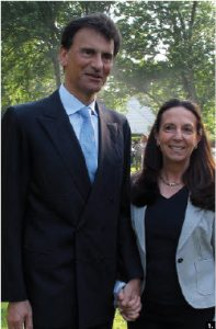 Italian Ambassador Andrea Meloni and his wife, Paola Bracci, hosted a fundraiser for Opera Lyra at their residence on June 16. (Photo: Jennifer Campbell)