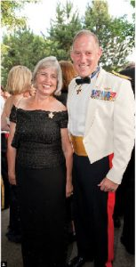 British High Commissioner Anthony Cary and his wife, Clare, hosted their annual British Summer Ball June 19. General Walter Natynczyk, chief of defence staff, attended with his wife, Leslie. (Photo: Dyanne Wilson)