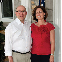 American Ambassador David Jacobson and his wife, Julie, hosted a Fourth of July party for nearly 4,000 at their residence. (Photo: Dyanne Wilson)