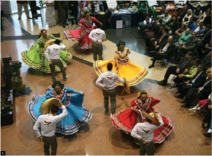 An event to celebrate the cultures of Latin America took place at Ottawa City Hall Aug. 22, and featured several Latino performers.