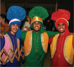 India's independence day celebration took place Aug. 15 at Ottawa City Hall and was hosted by Deputy High Commissioner Narinder Chauhan and Rina Shashishekhar Gavai, wife of High Commissioner Shashishekhar Madhukar Gavai as Mr. Gavai had to return to India on short notice. Shown here are three Bangra dancers who performed that evening. (Photos: Frank Scheme)