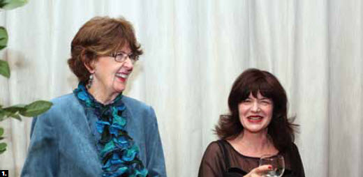 1. Senator Marjory LeBreton, left, attended Australia Day, hosted by High Commissioner Louise Hand at the National Arts Centre in January.