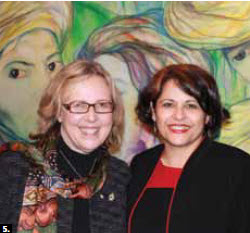 5. Cuban Ambassador Teresita Sotolongo hosted a national day reception in January, which Green Party leader Elizabeth May attended. (Photo: Ulle Baum)