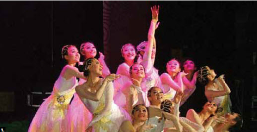1. The Canada-China Cultural Development Association (CCDA) partnered with the Heart & Stroke Foundation and presented a show featuring a Chinese performing arts group at Centrepointe Theatre. (Photo: Rudy Gao)