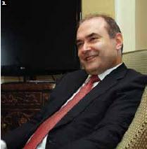 Albanian Foreign Minister Edmond Haxhinasto visited Ottawa in May. (Photo: Sam Garcia)