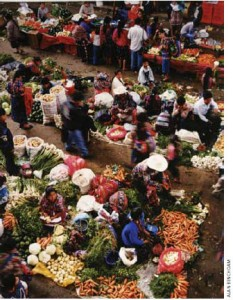Be sure to visit the colourful markets of Chichicastenango and Huehuetenango.