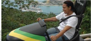 Mystic Mountain's bobsled ride is worth a try if you're in Ocho Rios.