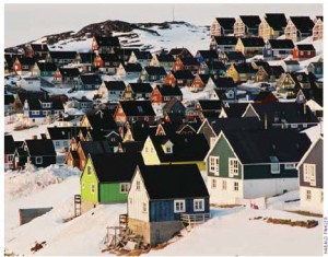 Nuuk, the site of the May 2012 Arctic Council ministerial meetings.