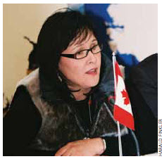 Leona Aglukkaq will chair the Arctic Council when Canada takes over next year.