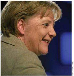 "Angela Merkel has been given the nickname ""Madame Non"" for her insistence on austerity measures in the EU."