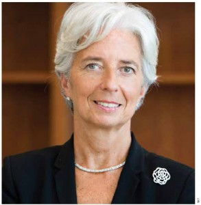 Christine Lagarde combines guile and guts as head of the IMF.