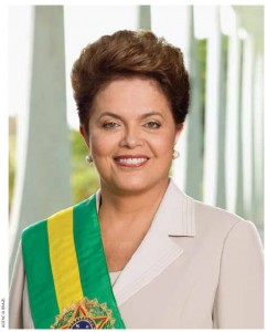 Brazilian President Dilma Rousseff is decisive and distant with staff.