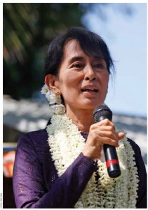 Myanmar's Daw Aung San Suu Kyi is one of the most courageous politicians of her time.