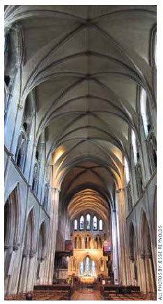 Built in the 1200s, St. Patrick's Cathedral's value is spiritual and historic.
