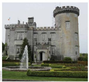 Dromoland Castle Hotel and Country Estate, dating back to the 1400s, is the gold standard in accommodations.