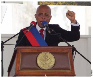 Haiti's new president, Michel Martelly, is focussed on attracting investment to his country.