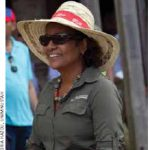 Michaëlle Jean, special envoy to Haiti for UNESCO, visits Haiti in 2011.