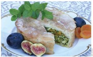 Moroccan Chicken Pastilla