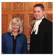 Shortly after arriving in Ottawa, Norwegian Ambassador Mona Brother paid a courtesy call on House of Commons Speaker Andrew Scheer. (Photo: Embassy of Norway)