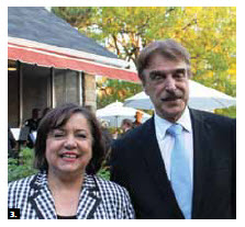 German Ambassador Werner Wnendt and his wife, Eleonore Wnendt-Juber, hosted a the Day of the German Unity  at their residence. (Photo: Ulle Baum)