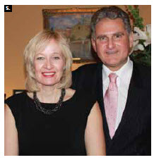 Outgoing British High Commissioner Andrew Pocock hosted a farewell reception at his residence, which Laureen Harper attended. (Photo: Ulle Baum)