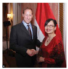Indonesian Ambassador Dienne Moehario hosted a national day reception at the Chateau Laurier, which Defence Minister Peter MacKay attended. (Photo: Sam Garcia)