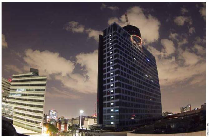 The World Trade Centre building in Mexico City.