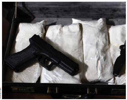 The cocaine market has declined slightly but the use of prescription drugs such as oxycodone is up, creating a lucrative profit pool for the Mexican cartels.