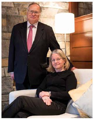 Ambassador Charles Murto and his wife, Ritva.