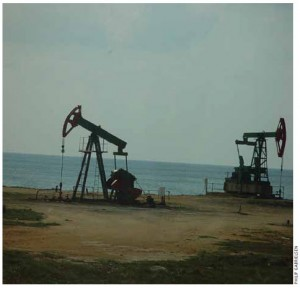 Jack pumps in Cuba's Boca De Jaruco oil field.